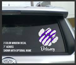 Matpack Car Window Decal Muzzy Monkeys Online Store