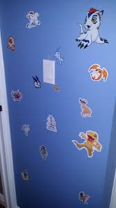 Fandramon Home Sunburned X X On Twitter I Have Digimon Stickers All Over The Wall Of The Entrance To My Bedroom Because I M An Adult And I Do What I Want B
