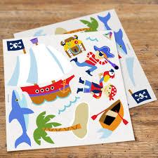 Pirates Peel Stick Kids Wall Decal Cutouts Art Appeel