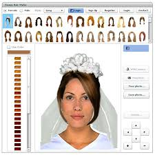 virtual hair and makeup makeover