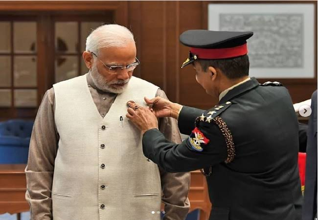 """Image result for PM Modi Greeted Indian Forces on Armed Forces Flag Day"""""""