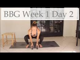 bbg week 1 day 2 you