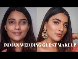 indian wedding guest makeup look
