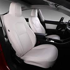 model 3 car seat cover pu leather