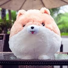 stuffed chubby puppy plush toy