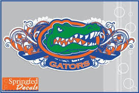 Amazon Com Florida Gators Tribal Gator Head 6 Vinyl Decal Car Truck Window Uf Baseball Sticker Automotive Baseball Sticker Vinyl Decals Truck Stickers