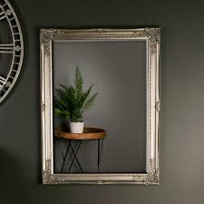 vintage wall mirror champagne gold
