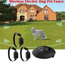 New 3 In 1 Wireless Electric Dog Pet Fence Containment System Transmitter Collar Waterproof 1 Dog System Walmart Com Walmart Com