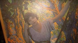 maxfield parrish dreamlight lithograph