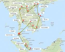 travel itinerary for southeast asia