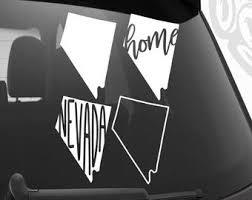 Nevada Car Decal Etsy