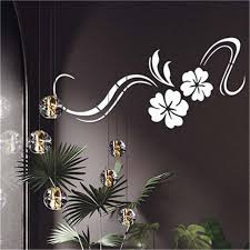 3d diy wall art decal modern mirror