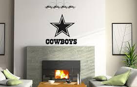 Adecalsnew Ncaa Tx Dallas Cowboys Logo Wall Decal Vinyl Sticker Mural Graphics Home Decor Nfl Fan Vinyl Wall Decals Logo Wall Wall Decals