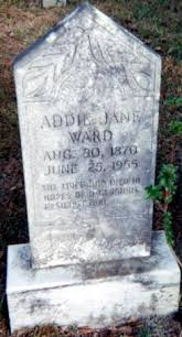 James Ward Cemetery, Columbus County Genealogy NCGenWeb