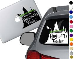 Harry Potter Hogwarts Teacher Decal Sticker