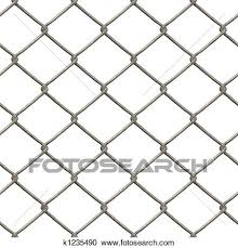 Chain Link Fence Clipart K1235490 Fotosearch