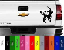 Pokemon Go Umbreon Vinyl Decal For Car Truck Wall Etsy