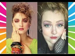 asmr makeup tutorial 80s madonna