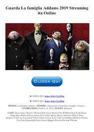 CB01-HD]Guarda La famiglia Addams 2019 Streaming ita Online Pages ...