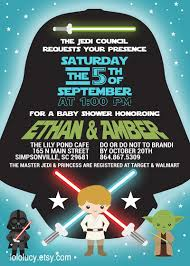 The Force Is Strong With This One Invite Your Guests With This