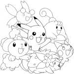 Pokemon Kleurplaten De Beste Kleurplaten