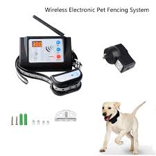 Rechargeable Wireless Electric Dog Fence Pet Collar Containment System Fencing 707427711372 Ebay