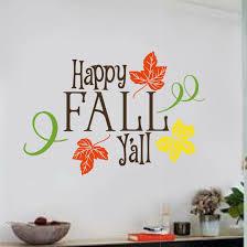 Enchantingly Elegant Happy Fall Y All Wall Decal Wayfair