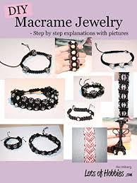 diy macrame jewelry step by step