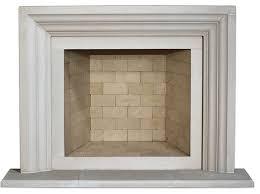 ellie cast stone fireplace mantel