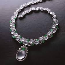 ice jade high jewelry pendant necklace