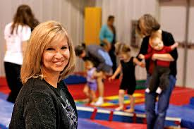 Former Eagles cheerleader, Wendy Roberts, tumbled into gymnastics ...