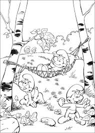 Smurfs Coloring Pages For Kids Printable Online Coloring 10