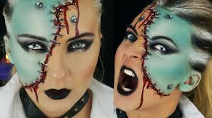 bride of frankenstein makeup images