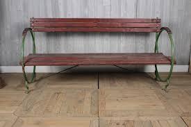 french art deco garden bench