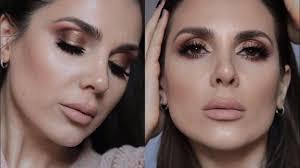 gold bronze makeup tutorial ali