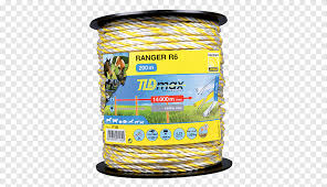 Rope Wire Electric Fence 200 Metres Electricity Rope White Technic Png Pngegg