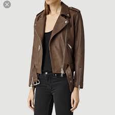 allsaints balfern leather jacket