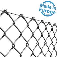 1 2m X 25m Galvanised Chain Link Fence 10g Wire Fence