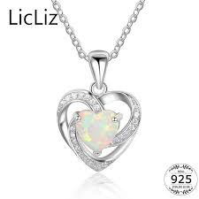 2020 licliz 925 sterling silver opal