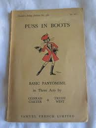 Puss in Boots by Carter, Conrad & West, Trudy: Very Good Soft cover (1950)  1st Edition | MacKellar Art & Books