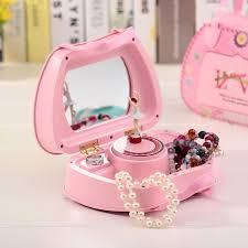 girl dancing jewelry storage box