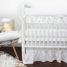 baby crib bedding ruffled gender