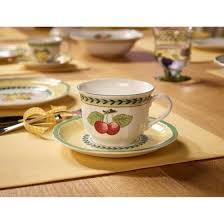 french garden fleurence cappuccino set