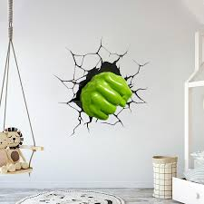 Fist Of Hulk Wall Decal Egraphicstore