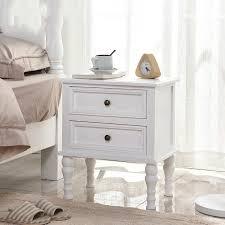 solid wood bedside table simple locker