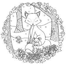 Pin Van Barbara Op Coloring Wolf Fox Kleurplaten Kleurboek
