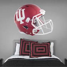 Fathead Fathead Indiana Hoosiers Crimson Helmet Huge Officially Licensed Removable Wall Decal Walmart Com Walmart Com