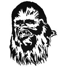 Star Wars Chewbacca Decal Sticker