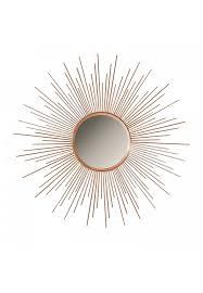 36 copper sunburst circular metal