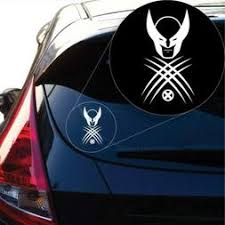 Wolverine X Men Decal Sticker For Car Window